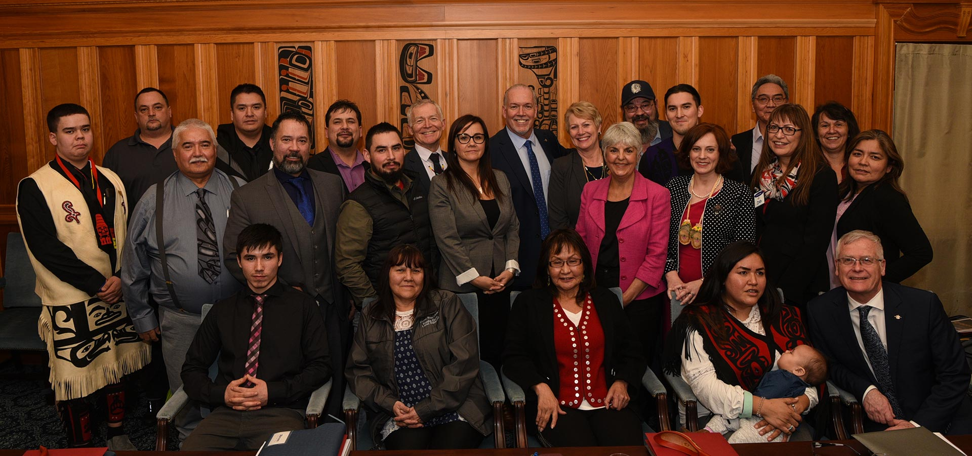 3 Nations meet with Premier Horgan and Key Ministers